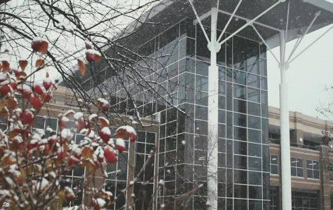 Frigid temperatures freeze Fairmont campus