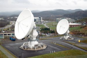 Fairmont's NOAA Satellite Dishes