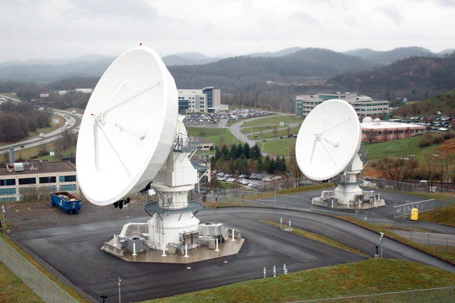Fairmonts NOAA Satellite Dishes