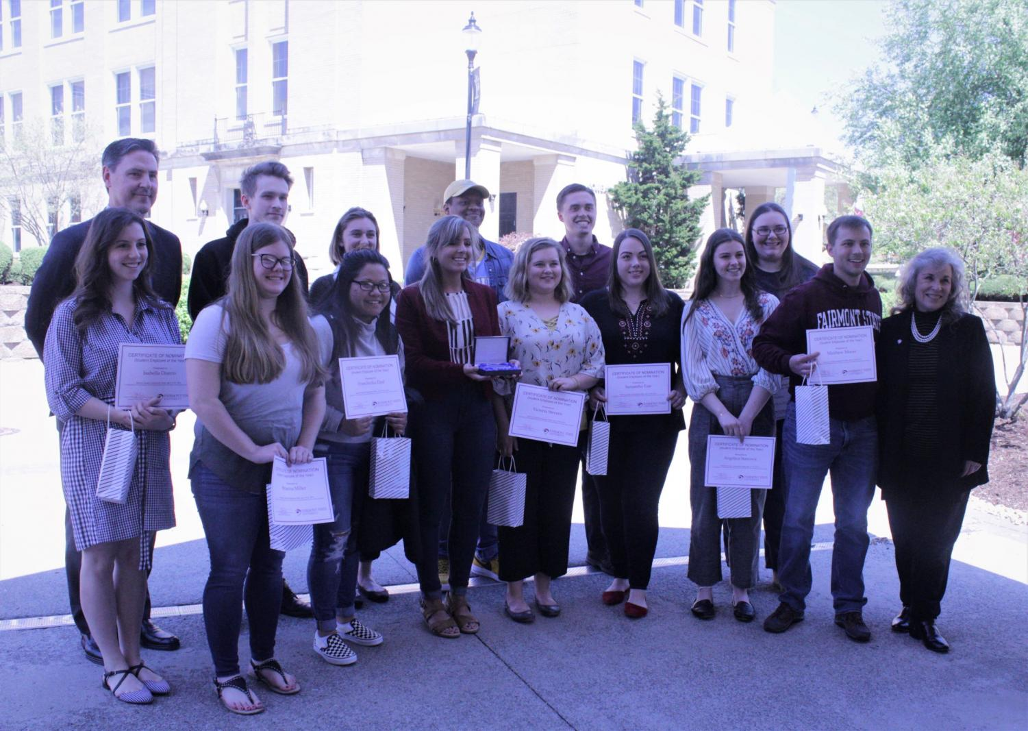 The Student Recognition and Appreciation Luncheon