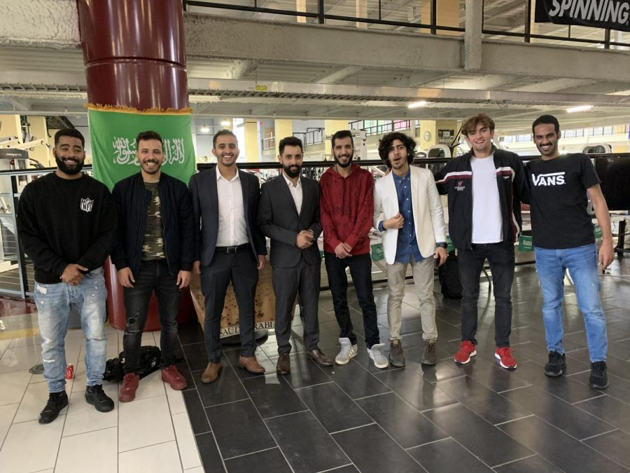Fairmont State University students from Saudi Arabia