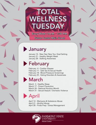 Total Wellness Tuesday Calendar