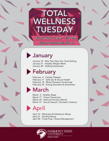 Total Wellness Tuesday @ Falcon Center Main Street