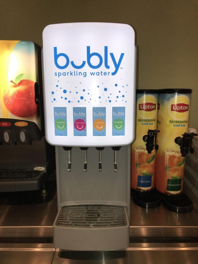FSU Students reject Bubly Sparkling Water