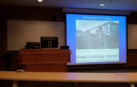 John Hando talks Environmental Crimes