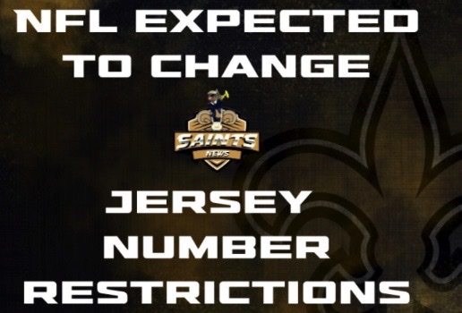NFL Jersey Rule change