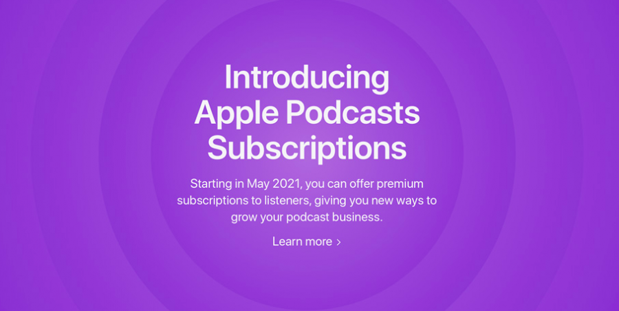 AppleAllows Podcast Creators to Sell Subscriptions