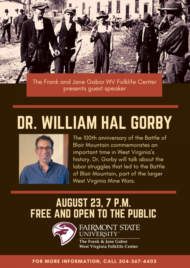 Dr. William Gorby on the West Virginia Mine Wars